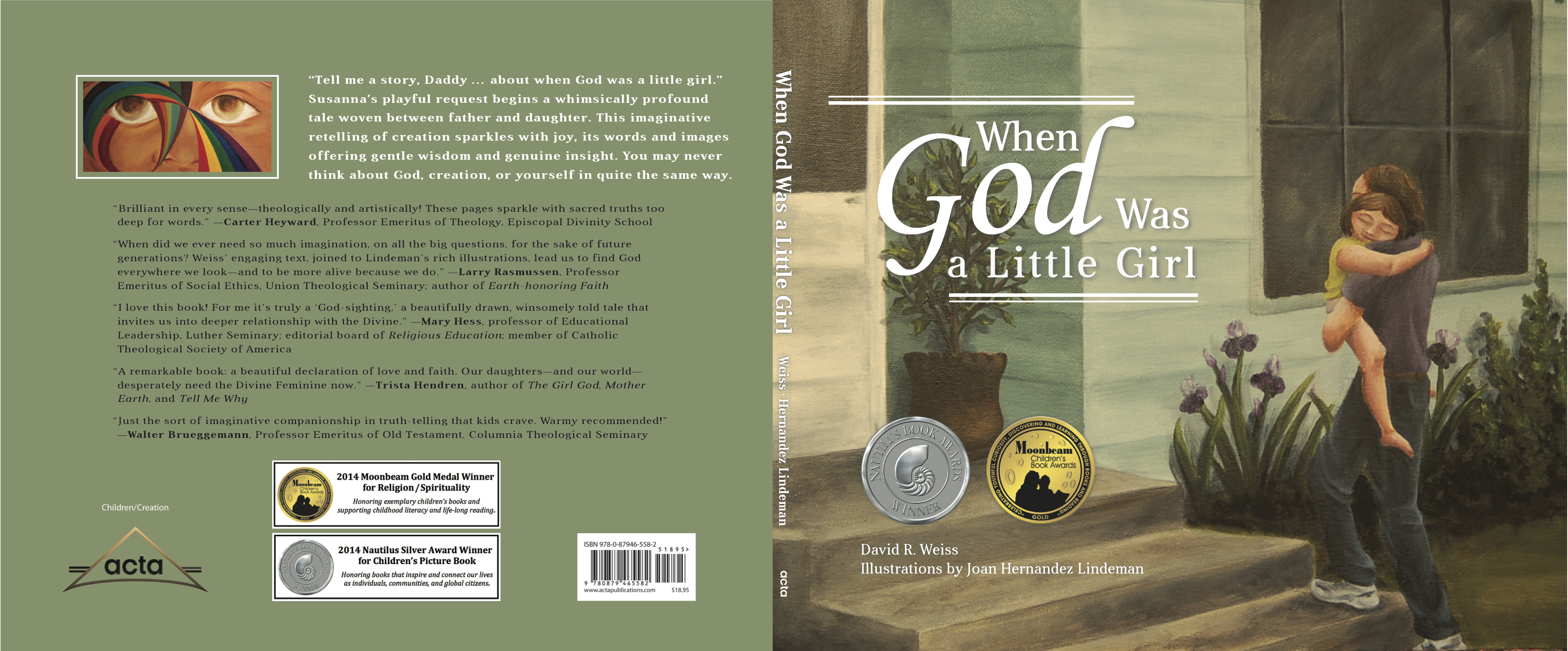 Where Is The Illustration On The Front Cover Of A Book ~ Exciting news about when god was a little girl when god was a